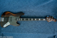 Bacchus Woodline-4 Jazz Bass HandMade Series